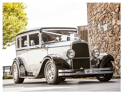 Hot Rod Heaven Wedding Car Hire