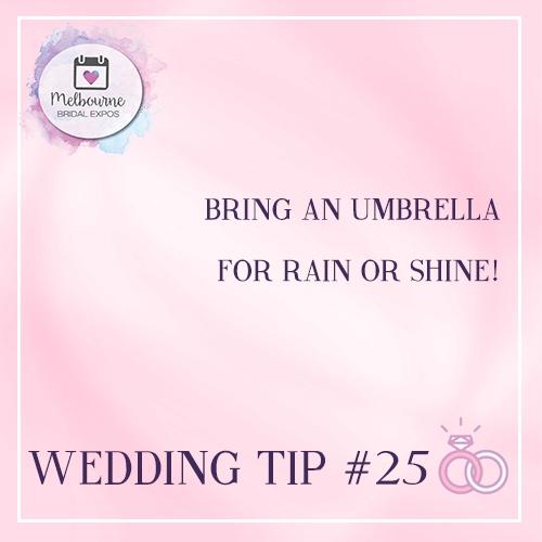 Bring an Umbrella