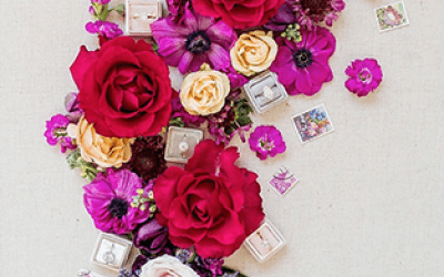 Love in Bloom Pantone Wedding Colours – Pretty and Bright