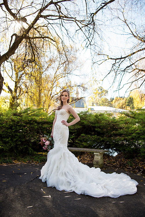 Bridal Expos Melbourne - Winter Wedding Styled Shoot - Ballara Receptions - Bridal Gowns from Kim Alpha Bridal