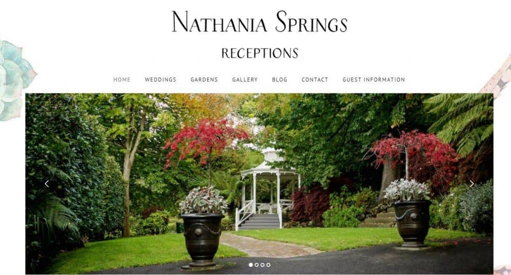 Melbourne's Best Wedding Venues - Nathania Springs Receptions
