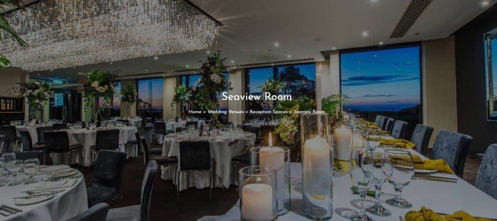 Melbourne's Best Wedding Venues - Seaview Room Brighton